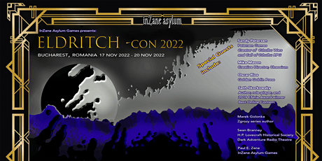 Eldritch-con 2022: A Horror and Fantasy Game Writers' Convention tickets