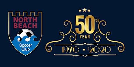 North Beach Soccer Club 50th Anniversary Ball tickets