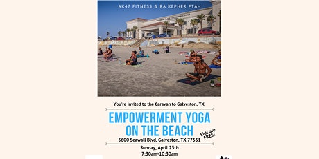 AK-47 Empowerment Yoga and Sound Bowl Meditation on the Beach tickets