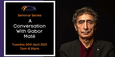 A Conversation With Dr Gabor Maté tickets