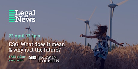 ESG: What does it mean & why is it the future? tickets