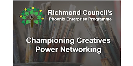 Creative Richmond -  Power networking -  April tickets