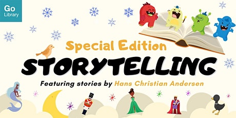 Andersen Storytelling for 4-6 years old @ Geylang East Public Library tickets