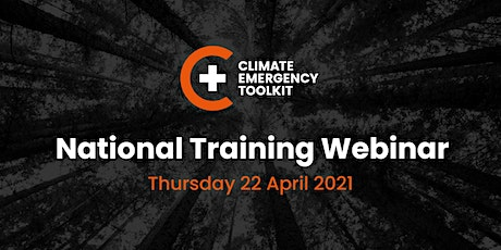 Climate Emergency Toolkit- National Training Webinar tickets