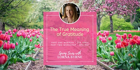 The True Meaning of Gratitude Workshop - Part 2 tickets