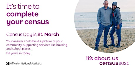 Census 2021 - Get help to complete your form tickets