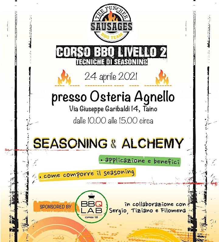 Immagine Corso BBQ livello 2: Tecniche di seasoning