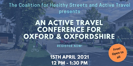 CoHSAT presents an Active Travel conference for Oxford and Oxfordshire tickets