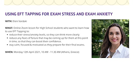Stress Relief for High School Students tickets