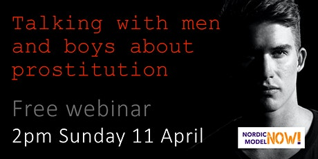 Talking with men and boys about prostitution tickets