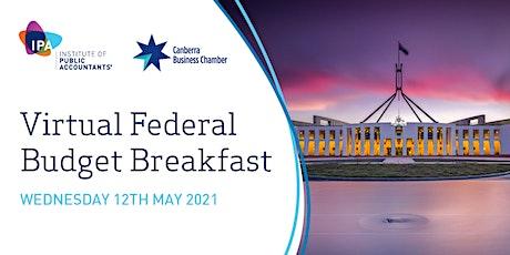 2021 Virtual Federal Budget Breakfast tickets