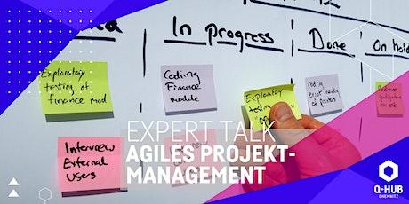 Q-HUB Expert Talk: Agiles Projektmanagement Tickets