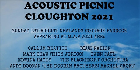 MAP2021  Macmillan Acoustic Picnic Music Festival Cloughton 2021 tickets