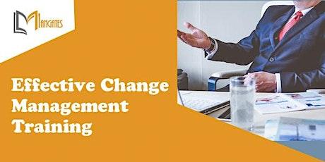 Effective Change Management 1 Day Virtual Live Training in Berlin billets