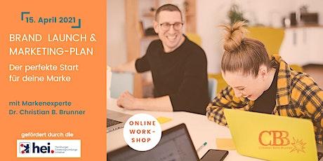 Brand Launch & Marketing Plan: Der perfekte Start für Deine Marke Tickets
