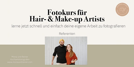 Fotokurs für Hair- & Make-up Artists Tickets
