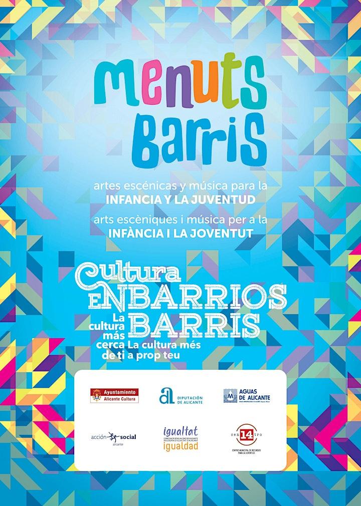 Imagen de Rebombori Cultural  LA HISTORIA INTERMINABLE (MENUTSBARRIS )Teatro Títeres