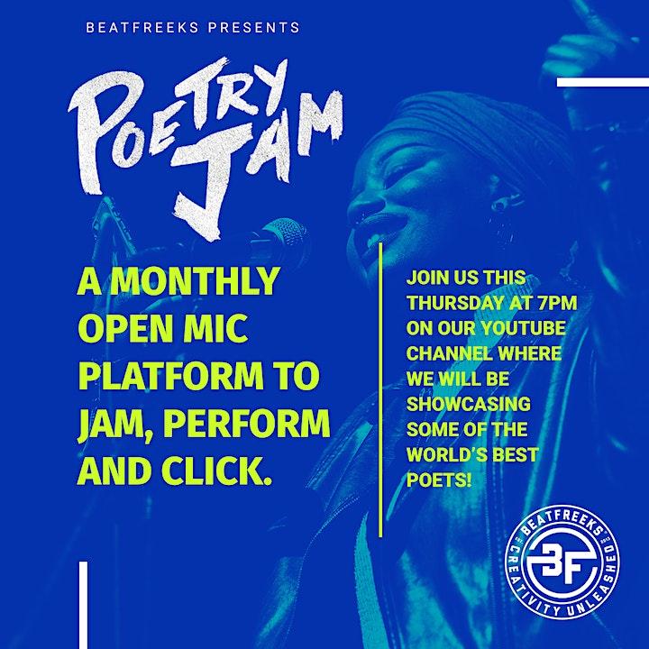 Beatfreeks - Poetry Jam Live image