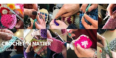 Crochet 'n Natter (online) tickets