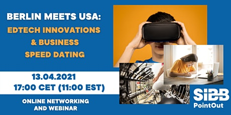 Berlin Meets USA: EdTech Innovations and Business Speed Dating tickets
