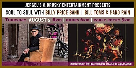 Billy Price Band / Bill Toms & Hard Rain tickets
