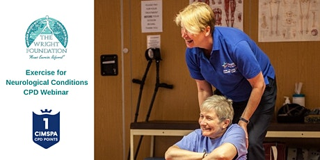 Exercise for Neurological Conditions CPD Webinar tickets