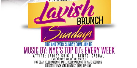 LAVISH BRUNCH SUNDAYS @ DORSETTBK tickets