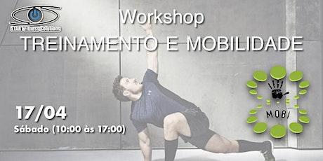 Workshop Mobilidade e Treinamento ingressos