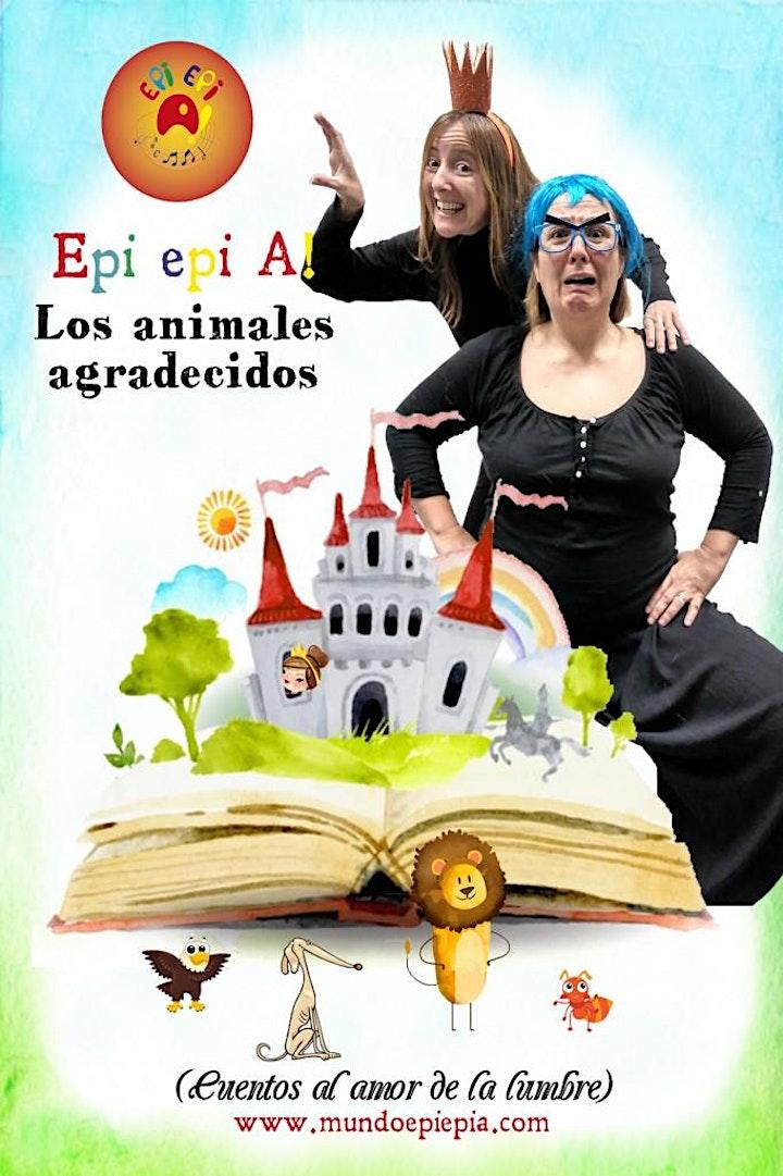 Imagen de Epi Epi A ¡  LOS ANIMALES AGRADECIDOS (MENUTSBARRIS)Narrativa oral