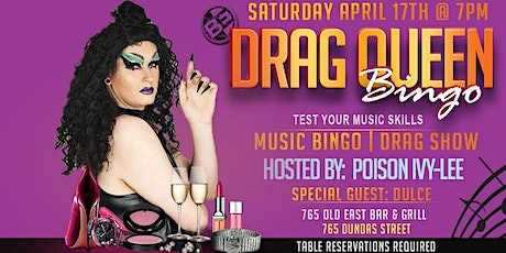 Drag Queen Music Bingo tickets
