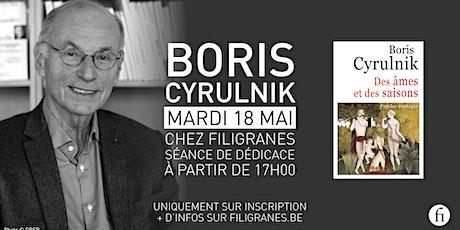 Boris Cyrulnik en dédicace ! billets