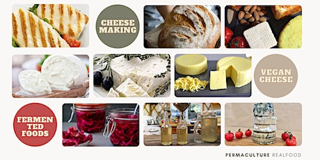 Burleigh ~ 4 Workshops ~ Cheese Making, Fermented Foods, & Vegan Cheese! tickets