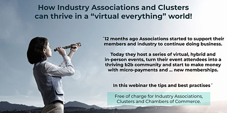 """How Associations can thrive in a ´""""virtual everything"""" world tickets"""