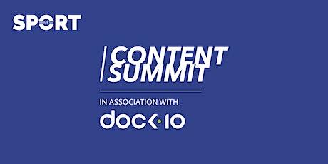 Broadcast Sport Content Summit tickets