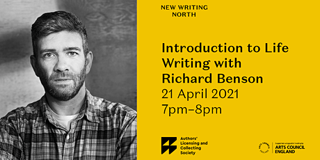 Life Writing with Richard Benson tickets