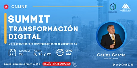 Summit Online CTD | Transformación Digital boletos