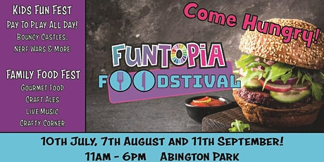 Funtopia Foodstival at Northampton tickets