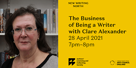 The Business of Being a Writer with Clare Alexander tickets