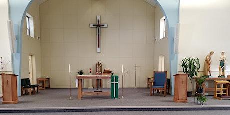 8:00am St. Luke Mass tickets
