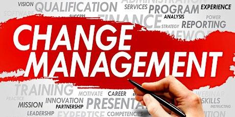 Change Management certification Training In Janesville, WI tickets