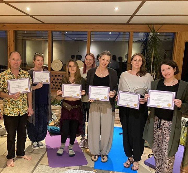 REIKI TRAINING IN THE BRIGHTON EARTHSHIP (Level 1 & 2 combined Certificate) image
