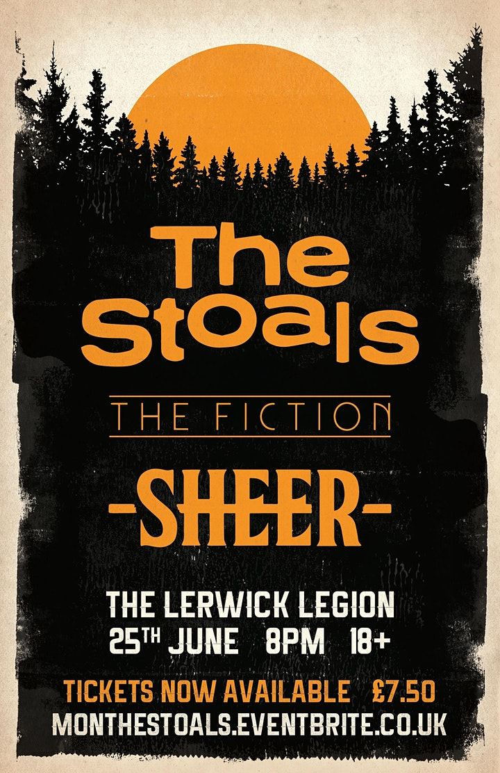 The Stoals + The Fiction + Sheer live @ The Lerwick Legion image