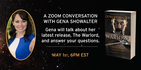 A ZOOM CONVERSATION WITH GENA SHOWALTER tickets