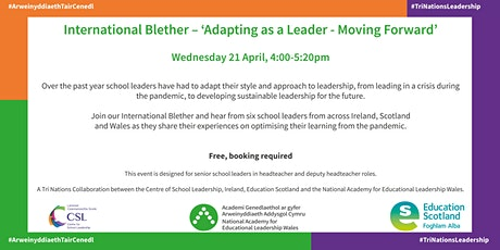 International Blether – 'Adapting as a Leader - Moving Forward' tickets
