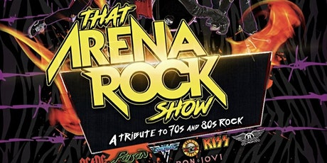 "That Arena Rock Show with Aces High Iron Maiden Tribute and ""E"" tickets"