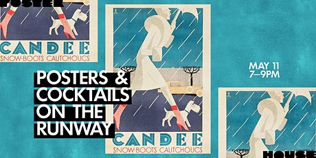 Posters & Cocktails on the Runway tickets