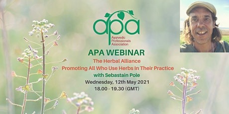 APA Webinar - The Herbal Alliance by Sebastian Pole tickets