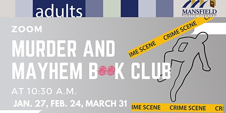 Virtual Murder and Mayhem Book Club tickets