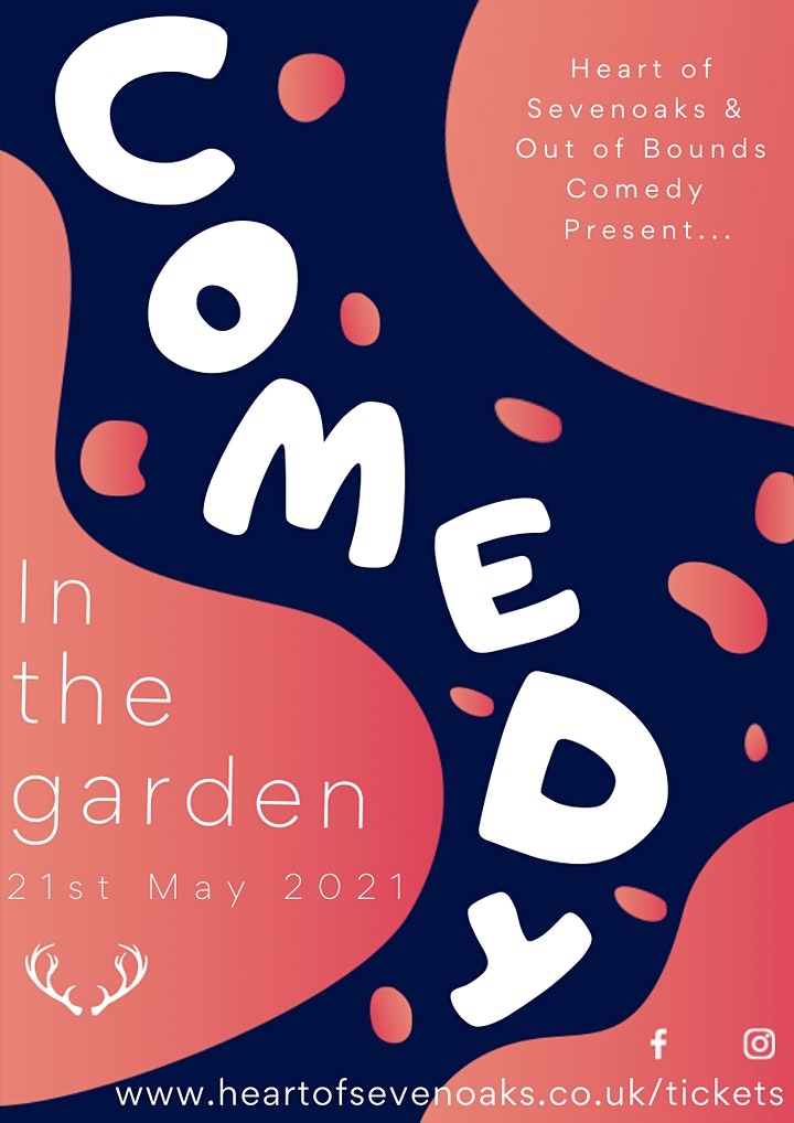 'Comedy in the Garden' presented by Out of Bounds & Heart of Sevenoaks image