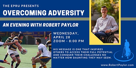 Overcoming Adversity: An Evening with Robert Paylor tickets